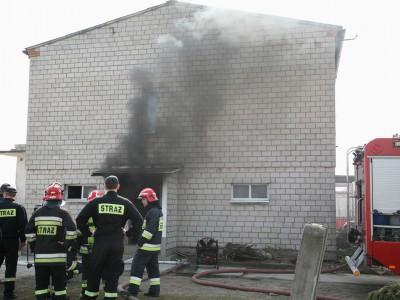 Poligon doświadczalny strażaków