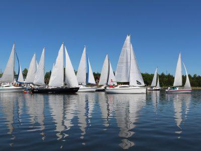 Trzy biegi na początek żeglarskiego sezonu