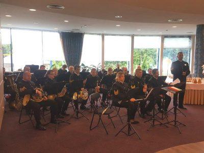 Górnicza orkiestra zagrała dla energetyków