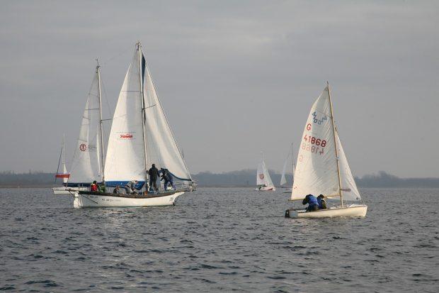 Wiatr sprzyjał żeglarzom