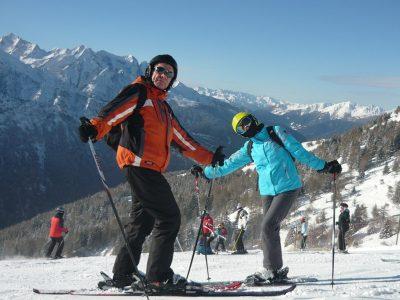Śnieg czekał na narciarzy