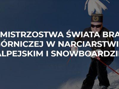 Górnik na nartach