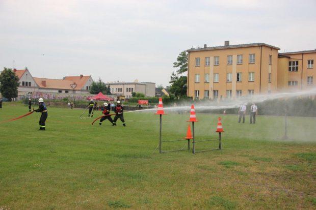 Zwycięstwo strażaków z Adamowa