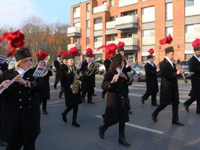Górnicza orkiestra na Święcie Niepodległości