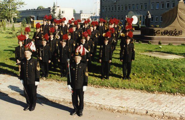 Muzycy w górniczych mundurach (6)