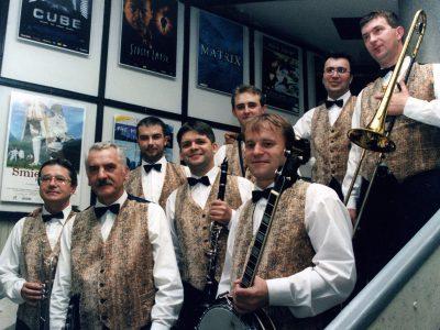 Muzycy w górniczych mundurach (7)