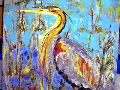Ptaki złotej sztalugi