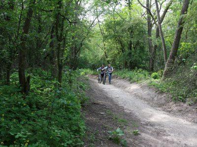 Raj dla piechurów i rowerzystów