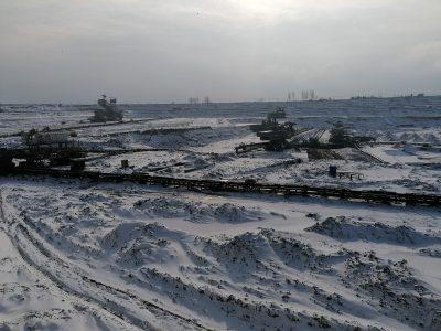 Odkrywka Jóźwin – wspomnienie o zimie