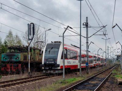 Pociąg specjalny na górniczym szlaku